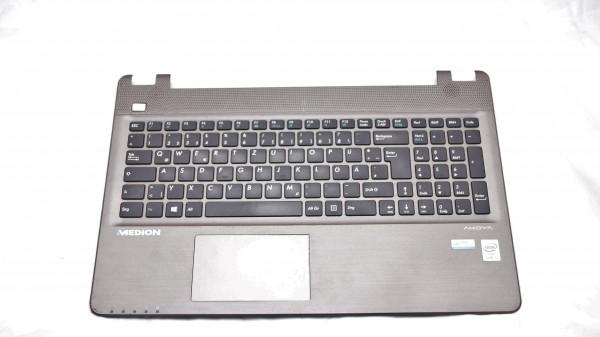 Medion E6416 Palmrest mit Tastatur und Touchpad 13N0-1BA0W21