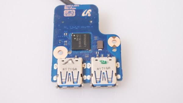 Samsung NP-RD511-S05AT USB Board mit Kabel BA92-07326A
