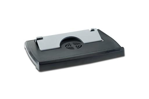 ednet Notebook Cooling Stand & USB 2.0 Hub, 4-Port 4040587640172 64017