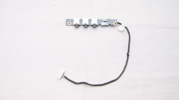 HP Pavilion DV7-1205eg Audio Board mit Kabel DC02000I600